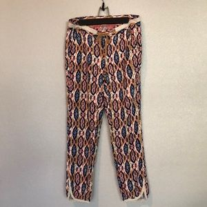Pilcro and the letterpress ikat joggers